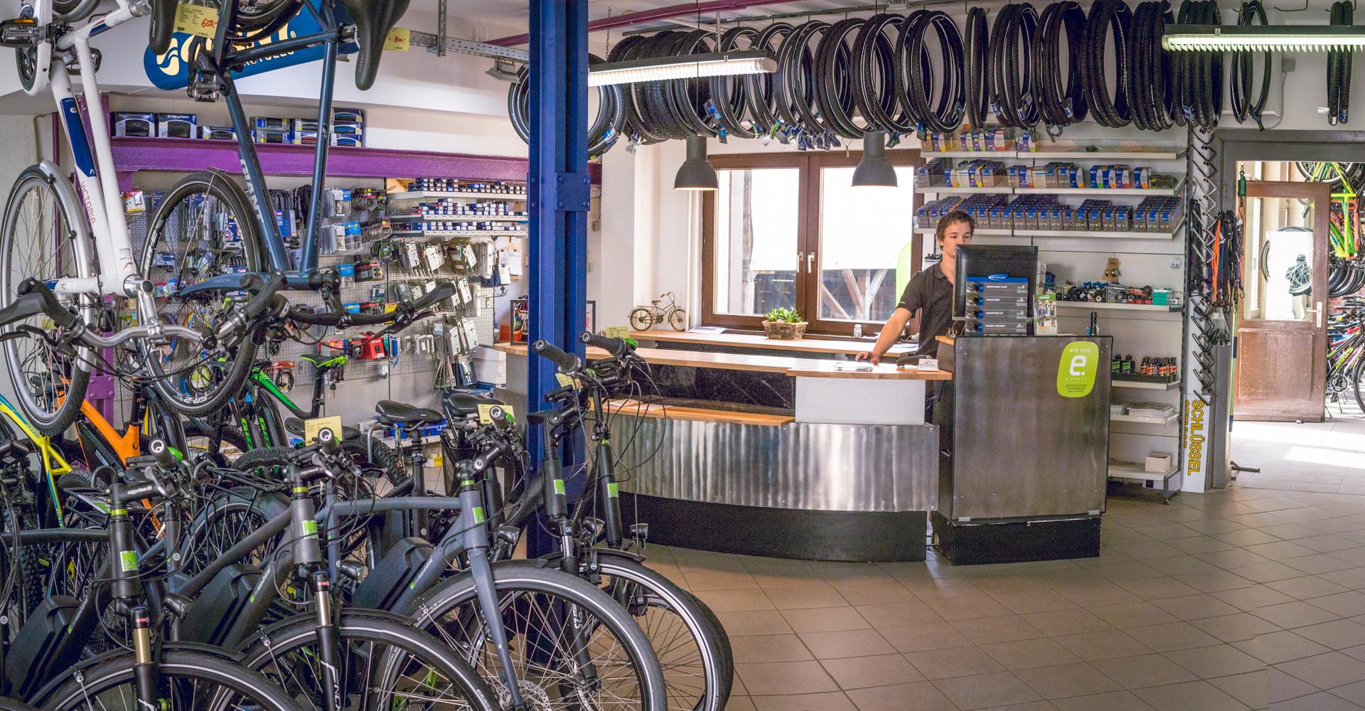 Rudis Radladen - Verkaufsraum